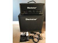 Blackstar HT STUDIO 20H and HTV-112 Cabinet. Guitar Amplifier