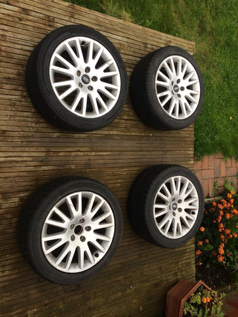 "17"" OEM Audi A4 B7 Special Edition Alloys"