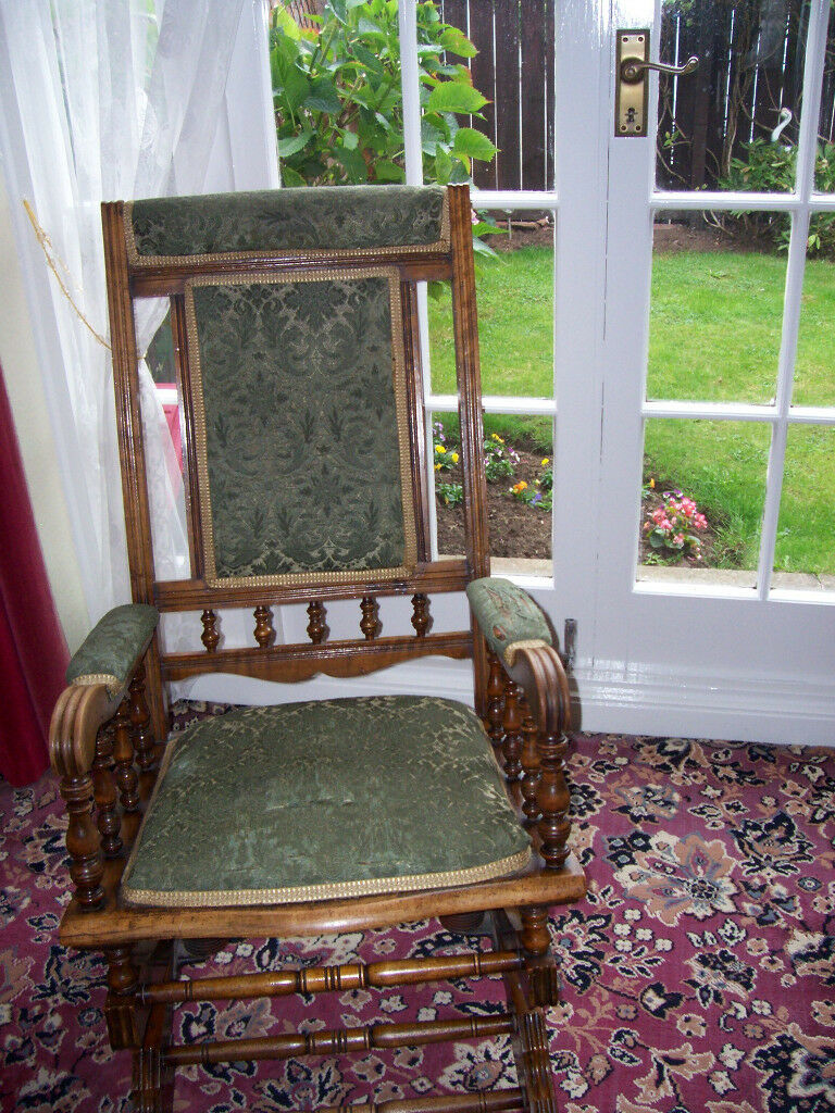 Astounding Victorian Rocking Chair In Stockton On Tees County Durham Gumtree Beatyapartments Chair Design Images Beatyapartmentscom