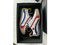Mens DSQUARED trainers White, Navy, Red, Yellowfins size 40 (UK 6) in great condition