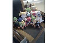 Mario & Friends Soft Plush Toys