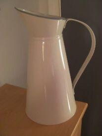 Large Metal Pitcher/Jug/Vase.