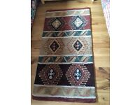 Small colourful rug