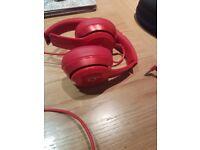 Dre Beats Headphones Red