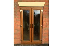 Patio doors and two matching windows