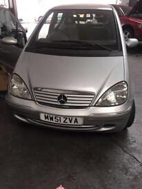 MERCEDES A140 FULL SERVICE HISTORY