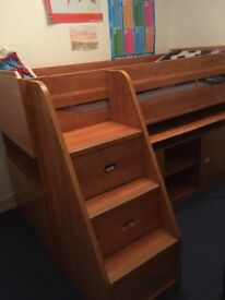 Gautier Calypso Top Quality French Children's Furniture Cabin Bed