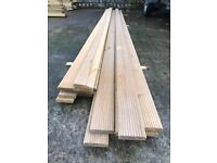 "20 Lengths Mini Treated 4"" Decking Boards (slight downgrade) Ideal for Planters"