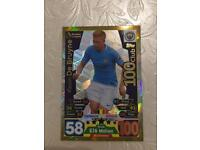 Match Attax 100 Club Kevin De Bruyne