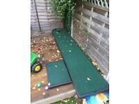Huxley golf putting mat