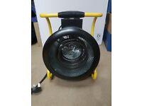 Olympus JetHeat OLYJ3 3kw 230v Industrial Fan Heater