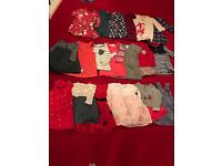 Baby Girl Clothes (6-12 mths) - selling only as a bundle