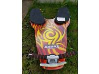 Fusion spinner shark knee board