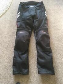 RST Ladies Motorcycle Trousers - size small (10)