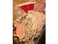 Baby girl set NEWBORN 9 items