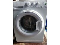 Hotpoint 8 Kg Washing Machine Eco Tech Platinum