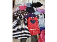 Girls clothes bundle age 9-10 includes items from Next and Monsoon.