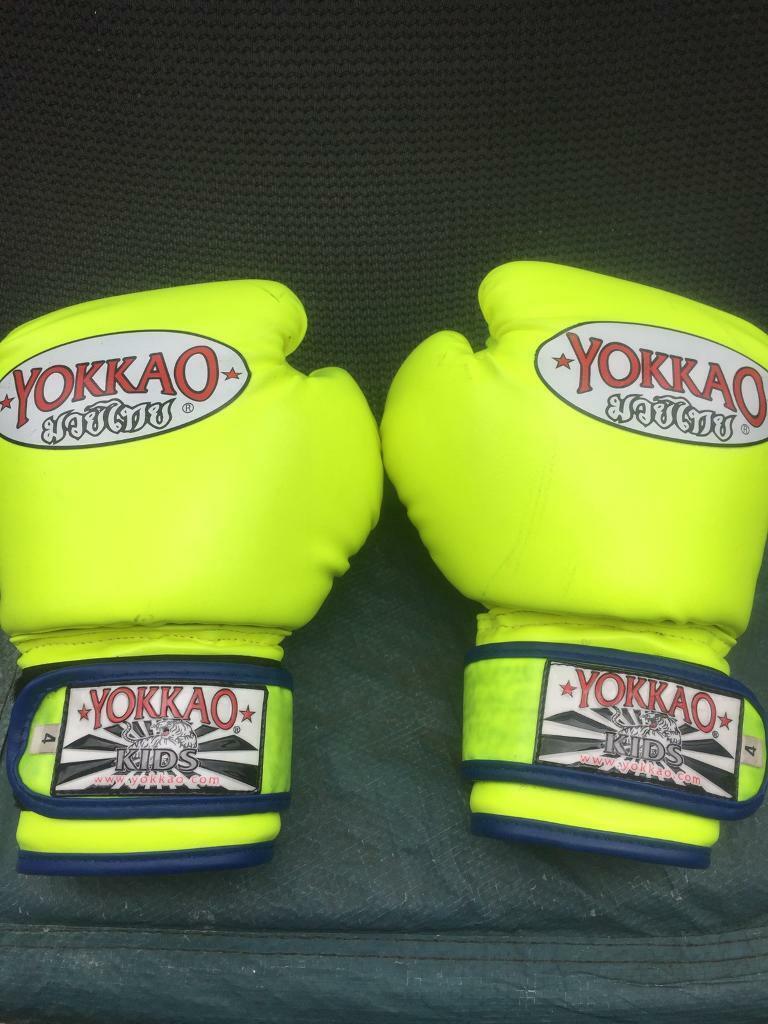 Yokkao kids boxing gloves | in York, North Yorkshire | Gumtree