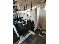 Commercial gym should press 120kg