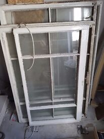 Sash window. No frame