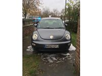 Volkswagen Beetle 1.6 1 year MOT Gunmetal Grey. Has been looked after, has had only 2 female owners.