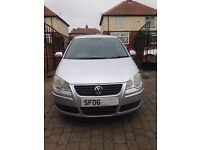 2006 06 plate VOLKSWAGEN POLO SE 1.4 TDI IN STUNNING SILVER FULL SERVICE HISTORY/AND 12 MONTHS MOT