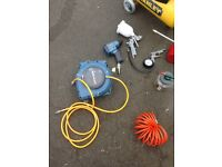 1.5 hp, 24l Stanley Air compressor for sale