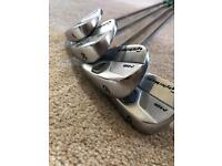 Taylormade MB irons 3-PW X100 Shaft