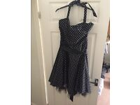 Ladies plus size 50s swing dress