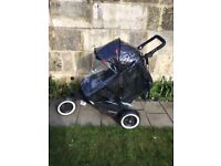 Phil & Ted's Dot Double (or Single) Buggy + Raincover