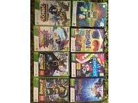 Selection of games X box 360