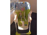 High Chair Chicco Polly