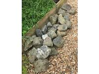 Garden Rockery Stones Rocks For Pond Or Landscaping Weathered Decorative Feature Large Approx 28