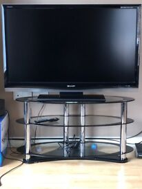 50 inch Sharp TV with stand