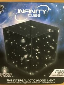 Intergalactic, interactive star filled light box!