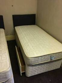 Single and double bed for sale