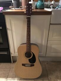 Guitar - Peavey Quality Handcrafted Acoustic Guitar (PV1 706)
