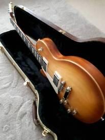 Left handed Gibson Les Paul Tribute