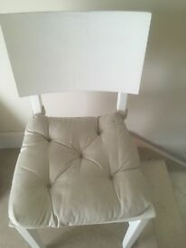 Small chair with cushion in good condition