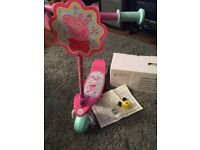 Brand new peppa pig scooter
