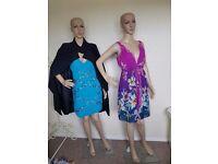 2 female mannequins