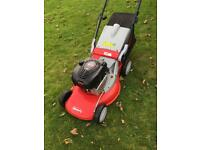 "Lawnmower big 21"" Self propelled IBEA 21"" alloy deck fully serviced mower in 1st class condition"