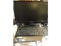 Packard bell monitor and keyboard