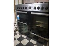 Beko range cooker less than 2 years old