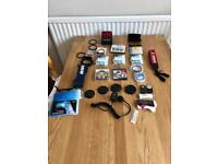 Various camera accessories. Filters, straps, remotes and more!