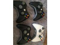Xbox 360 Controllers Joblot
