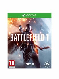 Battlefield 1 Standard Edition (Xbox one) (New)