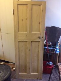 Two used Pine Doors