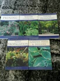 Royal Horticultural books