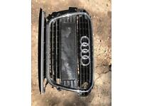 Front grill for Audi A1 from 2012 to 2017.